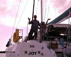 Joy and its Captain and First Mate