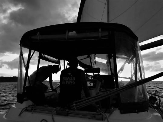 Leaving Tonga