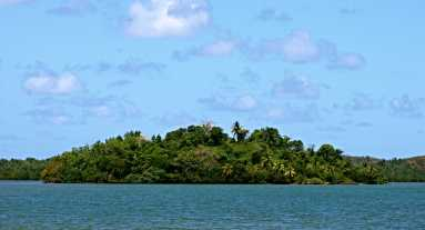 Pirate Island (not where the cemetery is)