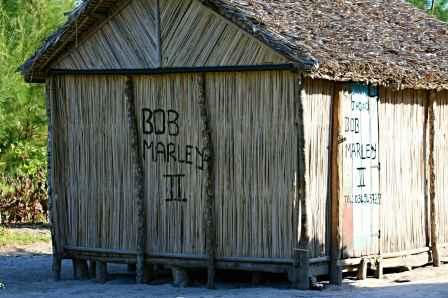 Random shack on the island