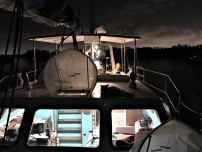 Anchored for the night