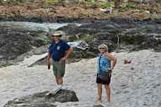Brian and Carol enjoying the scenery