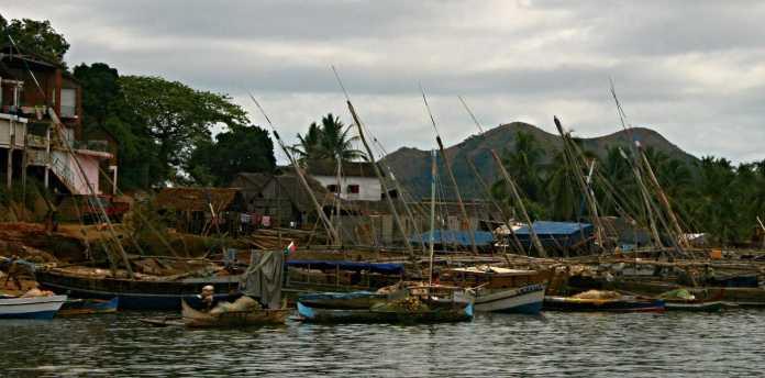 Boats along the way